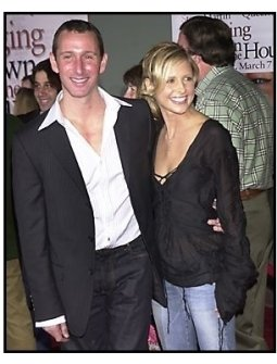 "Adam Shankman and Sarah Michelle Gellar at the ""Bringing Down the House"" Premiere"