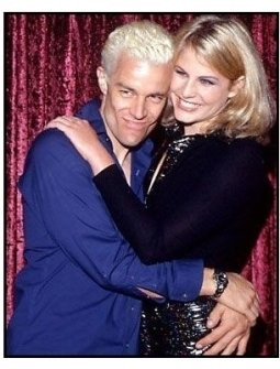 James Marsters and Alison MacInnis at the 2000 Pre-Emmy bash