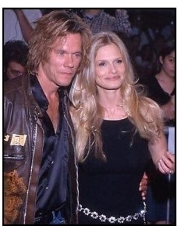 Kevin Bacon and Kyra Sedgwick at the Hollow Man premiere