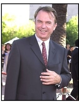 Sam Neill at the Jurassic Park III Premiere