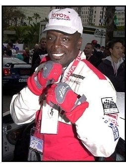 Billy Blanks at the 25th Annual Toyota Pro/Celebrity Race