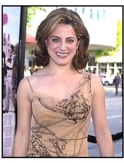 Alanna Ubach at the Legally Blonde premiere