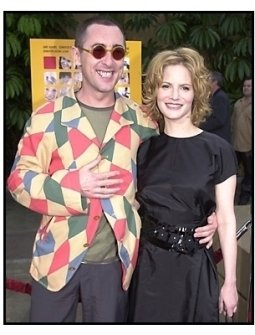 Alan Cumming and Jennifer Jason Leigh at The Anniversary Party premiere
