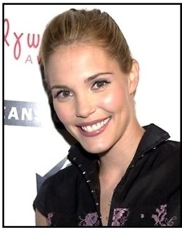Leslie Bibb at the 2001 Movieline Young Hollywood Awards