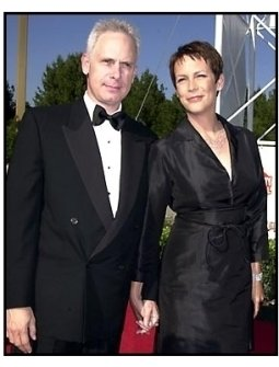 Christopher Guest and Jamie Lee Curtis at the 2001 American Comedy Awards