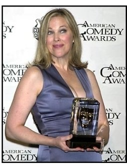Catherine O'Hara backstage at the 2001 American Comedy Awards