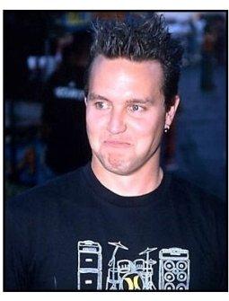 blink-182 singer Mark Hoppus at the 2000 Kobe Bowl