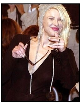 Courtney Love at the Blow premiere