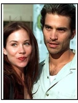 Christina Applegate and Johnathon Schaech at The Broken Hearts Club premiere.