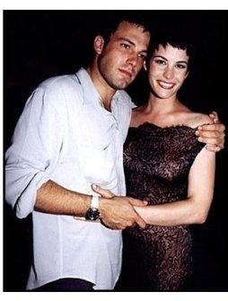 """Ben Affleck and Liv Tyler at """"Armageddon"""" Premiere"""