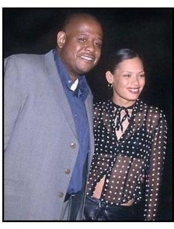 Forest Whitaker and wife at the Lucky Numbers premiere