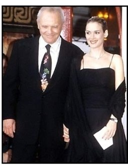 "Winona Ryder at the Anthony Hopkins ""Hands"" Ceremony"