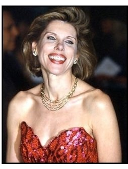 Christine Baranski at The Grinch premiere