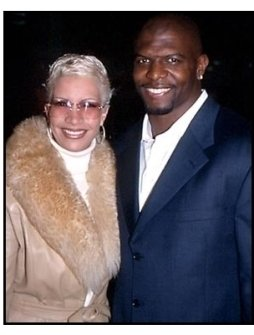 Terry Crews and date at The 6th Day premiere