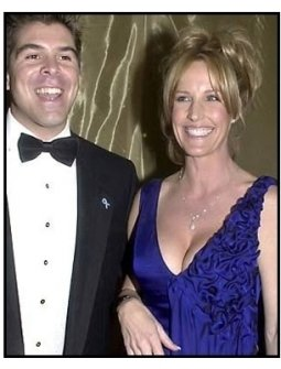 Erin Brockovich and date at the 2001 Golden Globe Awards DreamWorks / Universal Party