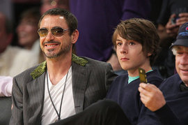 Robert Downey Jr and Indio Downey
