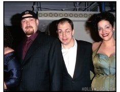 """Larry and Andy Wachowski at the """"The Matrix"""" Premiere"""