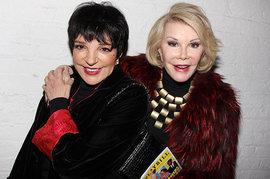 Joan Rivers, Liza Minnelli