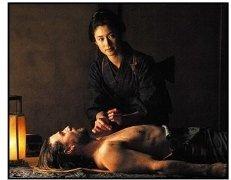 """""""The Last Samurai"""" Movie Still: Koyuki and Tom Cruise"""