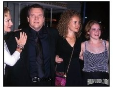 "Meat Loaf and family at the ""Fight Club"" Premiere"