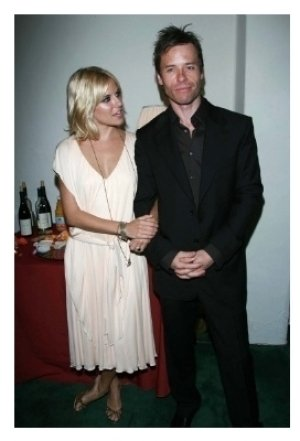 Sienna Miller and Guy Pearce