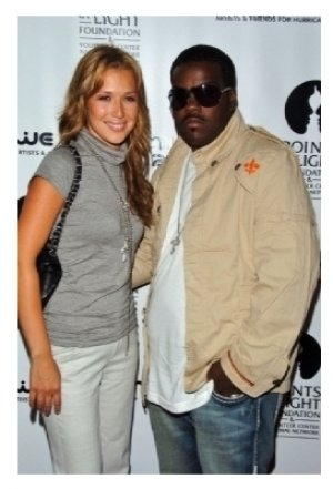 Joy Enriquez and Rodney Jerkins