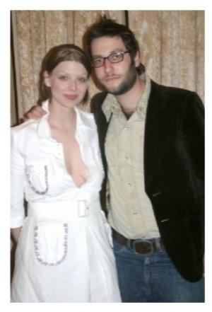 Amber Benson and Adam Busch