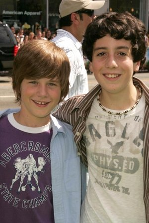 Luke Benward and Austin Rogers