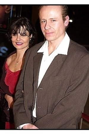 Karel Roden and date at the 15 Minutes premiere