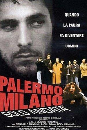 Palermo-Milan Solo Andata