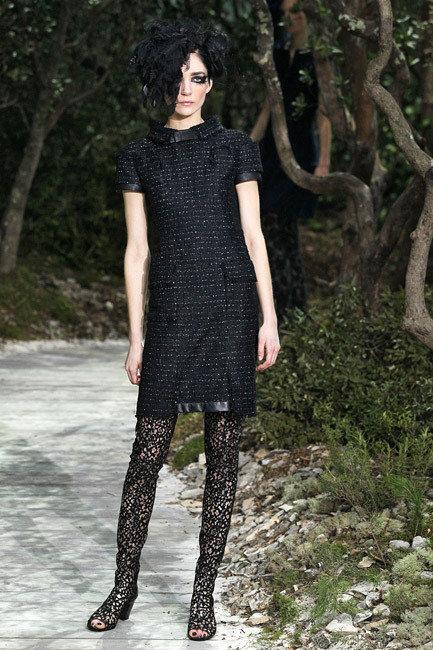 Paris Fashion Week Haute Couture Spring 2013 - Chanel Runway