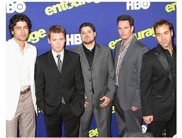 Entourage Season 3 Premiere Photos:  Adrian Grenier, Kevin Connolly, Jerry Ferrara, Kevin Dillon and Jeremy Piven