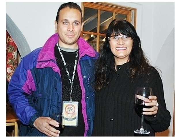 Bermuda Film Fest:  Rene Mohandas and Durdana Shaikh