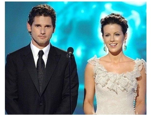 63rd Golden Globes Stage Photos: Eric Bana and Kate Beckinsale