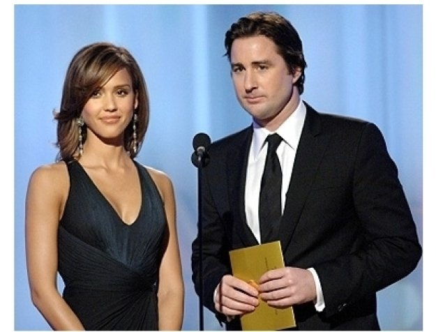 63rd Golden Globes Stage Photos: Jessica Alba and Luke Wilson