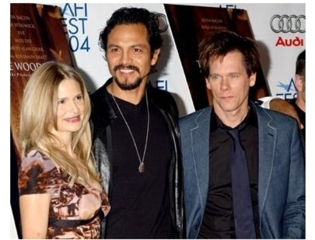 Kyra Sedgwick, Benjamin Bratt and Kevin Bacon at The Woodsman Premiere