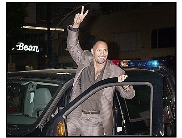 """Dwayne """"The Rock"""" Johnson at the """"Walking Tall"""" Premiere"""