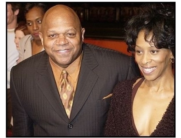 "Charles S. Dutton and wife Debbi at the ""Against the Ropes"" Premiere"