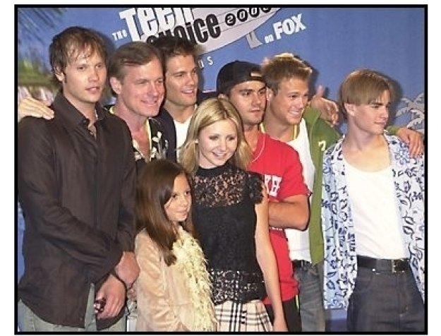 Teen Choice Awards 2002 Backstage: 7th Heaven cast won Choice TV Drama/Action Adventure