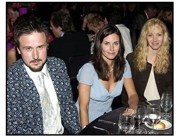 Warhol Celebrity Gala 2002: David Arquette, Courteney Cox and Lisa Kudrow