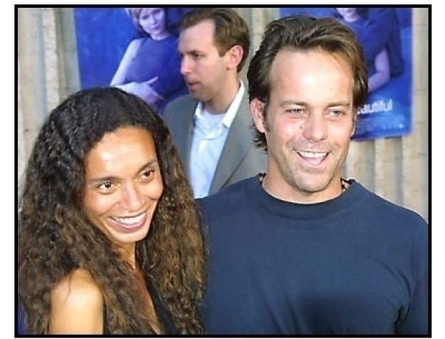 John Stockwell and date at the Crazy Beautiful premiere