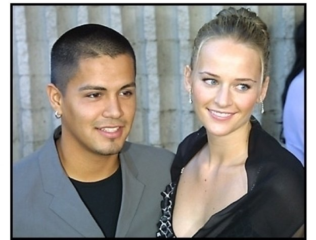 Jay Hernandez and date at the Crazy Beautiful premiere