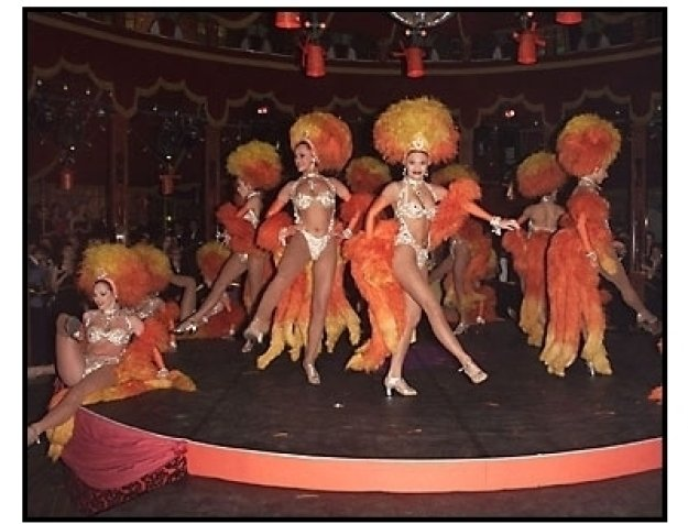 Dancers at the Moulin Rouge After-Party