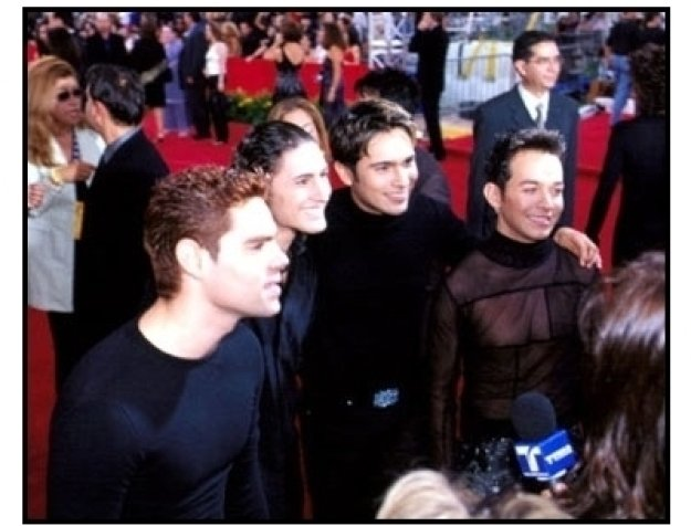 MDO at the 2001 Billboard Latin Music Awards