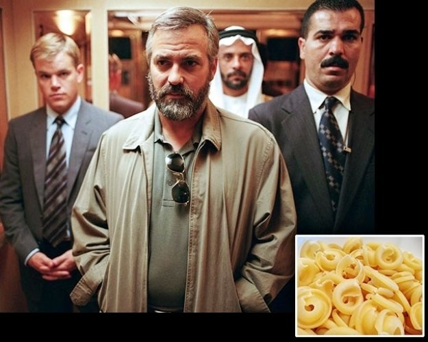 What Did George Clooney Eat for 'Syriana'?