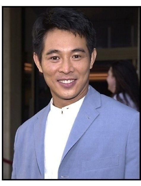 Jet Li at the Kiss of the Dragon premiere