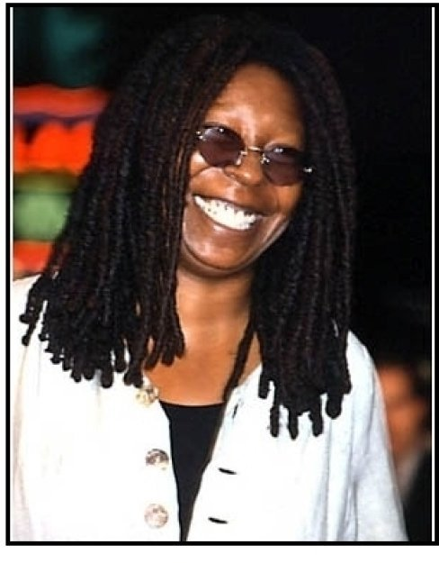 Whoopi Goldberg at The Exorcist premiere