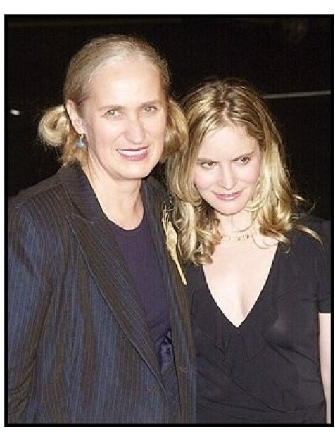 "Director Jane Campion and Jennifer Jason Leigh at the ""In the Cut"" premiere"