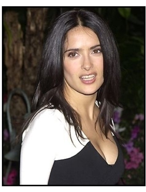 Salma Hayek at the 2002 Broadcast Film Critic's Choice Awards
