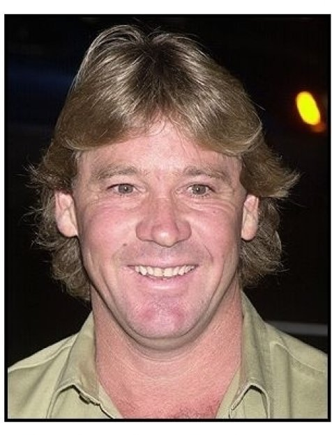 """Steve Irwin at the """"Master and Commander"""" premiere"""